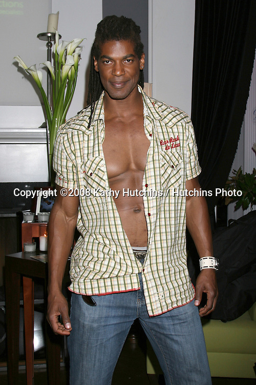 "William Romeo.aka ""Mayhem"" of American Gladiators.GBK Productions Oscar Gifting Suite.Boulevard3.Los Angeles, CA.February 23, 2008.©2008 Kathy Hutchins / Hutchins Photo...."