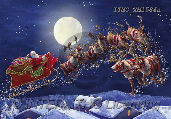 Marcello, CHRISTMAS SANTA, SNOWMAN, WEIHNACHTSMÄNNER, SCHNEEMÄNNER, PAPÁ NOEL, MUÑECOS DE NIEVE, paintings+++++,ITMCXM1584A,#X#
