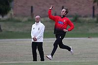 Billy Gordon of Hornchurch during Hornchurch CC vs Buckhurst Hill CC (batting), Essex Cricket League Cricket at Harrow Lodge Park on 25th July 2020