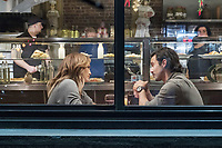 Jennifer Lopez & Milo Ventimiglia<br /> Second Act (2018) <br /> *Filmstill - Editorial Use Only*<br /> CAP/RFS<br /> Image supplied by Capital Pictures