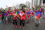 Kanae Yagi (JPN), <br /> AUGUST 2, 2016 : <br /> Welcome Ceremony for the Japanese delegation <br /> during the Rio 2016 Olympic Games <br /> at Athlete's Village, in Rio de Janeiro, Brazil. <br /> (Photo by YUTAKA/AFLO SPORT)