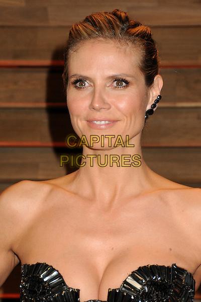 02 March 2014 - West Hollywood, California - Heidi Klum. 2014 Vanity Fair Oscar Party following the 86th Academy Awards held at Sunset Plaza.  <br /> CAP/ADM/BP<br /> &copy;Byron Purvis/AdMedia/Capital Pictures