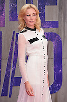 "Clara Paget<br /> arrives for the ""Suicide Squad"" premiere at the Odeon Leicester Square, London.<br /> <br /> <br /> ©Ash Knotek  D3142  03/08/2016"
