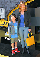 Mary Lynn Rajskub &amp; Valentine Anthony Rolph at the world premiere of &quot;The Lego Batman Movie&quot; at the Regency Village Theatre, Westwood, Los Angeles, USA 4th February  2017<br /> Picture: Paul Smith/Featureflash/SilverHub 0208 004 5359 sales@silverhubmedia.com