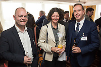 Pictured from left are Terry Ellis of H22 Solutions, Caroline Pearson ofActons Solicitors and Matt Seaford of MRP