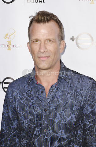 "BEVERLY HILLS, CA - AUGUST 26: Thomas Jane attends the ""Equal Means Equal"" Special Screening at the Music Hall on August 20, 2016 in Beverly Hills, CA. Koi Sojer, Snap'N U Photos / MediaPunch"