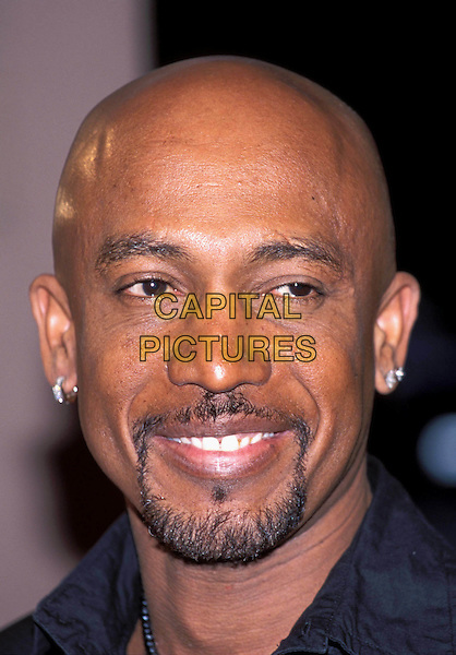 MONTEL WILLIAMS.tv host, goatee beard, bald.Ref: 11719.www.capitalpictures.com.sales@capitalpictures.com.© Capital Pictures