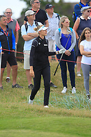 Nelly Korda (USA) on the 4th fairway during Round 3 of the Ricoh Women's British Open at Royal Lytham &amp; St. Annes on Saturday 4th August 2018.<br /> Picture:  Thos Caffrey / Golffile<br /> <br /> All photo usage must carry mandatory copyright credit (&copy; Golffile | Thos Caffrey)