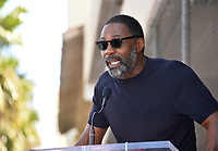 LOS ANGELES, CA. October 01, 2019: Idris Elba at the Hollywood Walk of Fame Star Ceremony honoring Tyler Perry.<br /> Pictures: Paul Smith/Featureflash