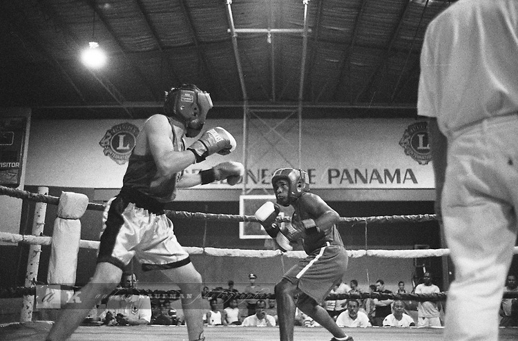 Panama's Boxing Gyms.At a boxing gym in Panama City, young boxers train as a way out of one of the worst neighborhoods in the country, Curundu. The gym is named the Pedro Rokero Gimnasio after one of Panama's most famous boxers. Most friday nights there are also fights at the Lions Club of Maranon.