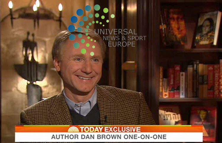 "Dan Brown gives his one exclusive  TV interview - on NBC Today - to launch his long-awaited new novel The Lost Symbol. The book is set to storm to the top of bestseller charts: customers were queuing outside Waterstone's flagship store in Piccadilly today from 4am to be the first to get their hands on the novel, while Asda alone is expecting to sell almost 20,000 copies over the next week. With advance pre-orders of at least 35,000 through Amazon.co.uk, sales from these two outlets alone will propel The Lost Symbol to the top of the UK's bestseller lists. Brown's novel The Da Vinci Code - the last book to feature his ""symbologist"" hero Robert Langdon, he of the ""charcoal turtleneck, Harris Tweed jacket, khakis, and collegiate cordovan loafers"" - has sold 5.2m copies in the UK according to book sales monitor Nielsen BookScan, and more than 80m copies worldwide. It is the UK's bestselling adult paperback novel of all time - followed in second, third and fourth place by Brown's other titles, Angels & Demons, Deception Point and Digital Fortress..15 September 2009: Universal News and Sport (Scotland)/NBC.All pictures must be credited to  www.universalnewsandsport.com.(0ffice) 0844 884 51 22.(Universal News does not claim any Copyright or License in the attached material. Any downloading fee charged by Universal News and Sport is for Universal News services only. We are advised that videograbs should not be used more than 48 hours after the time of original transmission, without the consent of the copyright holder). ."