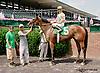 Don'tstop Theparty winning at Delaware Park racetrack on 7/2/14