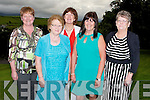 FRIENDS: Still friends and past pupils of Killahan NS and attending the 50th Anniversary of the school on Sunday in Ballyroe Heights Hotel, Tralee, L-r: Margaret Shanahan and Ellieann O'Sullivan (Abbeydorney), Ellen Twomey and Una McGrath (Lixnaw) and Betty O'Sullivan (Abbeydorney).