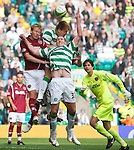 Glenn Loovens heads in a last gasp winner for Celtic to steal victory in added on time