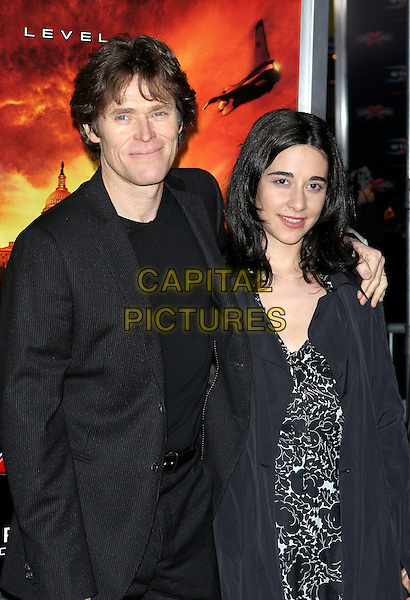 """WILLEM DAFOE.The premiere of """"XXX: State of the Union"""" held at the Mann Village Theatre, Westwood, California .April 25th, 2005.Photo Credit: Jacqui Wong/AdMedia.half length arm over shoulder.www.capitalpictures.com.sales@capitalpictures.com.© Capital Pictures."""
