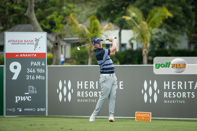 Justin harding (RSA) during the 3rd round of the AfrAsia Bank Mauritius Open, Four Seasons Golf Club Mauritius at Anahita, Beau Champ, Mauritius. 01/12/2018<br /> Picture: Golffile | Mark Sampson<br /> <br /> <br /> All photo usage must carry mandatory copyright credit (&copy; Golffile | Mark Sampson)