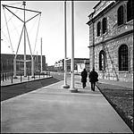 Corso Castelfidardo e le Officine Grandi Riparazioni delle Ferrovie. Marzo 2005.