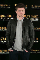 "Taron Egerton attend the ""Kingsman"" Movie Presentation at Villa Magna Hotel, Madrid,  Spain. February 06, 2015.(ALTERPHOTOS/)Carlos Dafonte) /NORTEphoto.com"