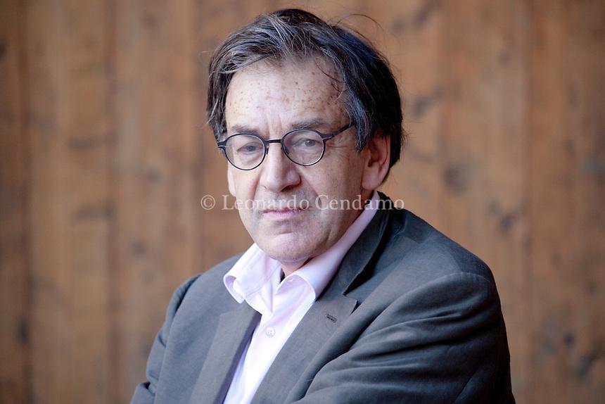 Alain Finkielkraut, franßaise writer, philosopher and jornalist. Mantova, 2011.  ¬© Leonardo Cendamo