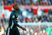 9th September 2017, bet365 Stadium, Stoke-on-Trent, England; EPL Premier League football, Stoke City versus Manchester United; Paul Pogba of Manchester United