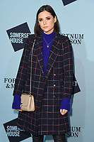 Lilah Parsons<br /> arriving for the Skate at Somerset House 2017 opening, London<br /> <br /> <br /> ©Ash Knotek  D3351  14/11/2017