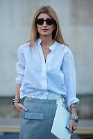 Sarah Rutson at Paris Fashion Week (Photo by Hunter Abrams/Guest of a Guest)
