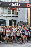 Start of the race at the Bloomberg Square Mile Relay in London, United Kingdom. Photo by Richard Langdon / Power Sport Images