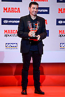 Leganes coach Asier Garitano attends to the photocell of the Marca Awards 2015-2016 at Florida Park in Madrid. November 07, 2016. (ALTERPHOTOS/Borja B.Hojas) ///NORTEPHOTO.COM