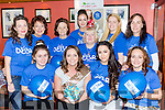 Debra Duggan, Tralee who met her hens in O'Sullivan bar Firies before they headed to Ennis for her hen party front row l-r: Siobhain Breen, Debra duggan, Sophie Houlihan, Frances Henderson. Back row: Olivia Butler, Nora duggan, Liz Folwy, Noreen Casey, Martina McEneaney, Magella Breen and Lorraine Breen