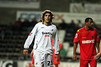 Pictured: Guillem Bauzà of Swansea City in action <br /> Re: Carling Cup Round Four, Swansea City Football Club v Watford at the Liberty Stadium, Swansea, south Wales, Tuesday 11 November 2008.<br /> Picture by Dimitrios Legakis Photography (Athena Picture Agency), Swansea, 07815441513