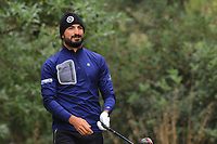 Francesco Laporta (ITA) on the 7th tee during Round 4 of the Challenge Tour Grand Final 2019 at Club de Golf Alcanada, Port d'Alcúdia, Mallorca, Spain on Sunday 10th November 2019.<br /> Picture:  Thos Caffrey / Golffile<br /> <br /> All photo usage must carry mandatory copyright credit (© Golffile | Thos Caffrey)