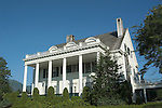 Alaska, Juneau: Governor House..Photo #: alaska10180 .Photo copyright Lee Foster, 510/549-2202, lee@fostertravel.com, www.fostertravel.com..