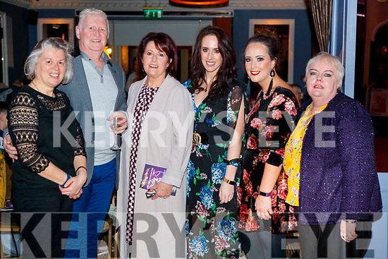 Maud Walsh, Richard Wash, Caitriona O'Neill, Orla O'Neill, Emer O'Neill and Tina Canty, supporting Sickly Come Dancing, UHK, at Ballygarry House Hotel & Spa, Tralee on Friday night last.