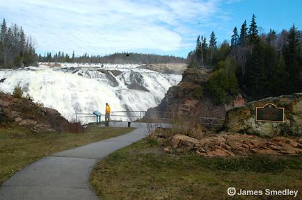 Scenic High Falls near Wawa, Ontario