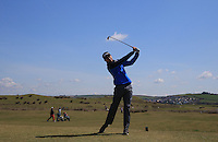 Robert Shaw during Round Two of the West of England Championship 2016, at Royal North Devon Golf Club, Westward Ho!, Devon  23/04/2016. Picture: Golffile | David Lloyd<br /> <br /> All photos usage must carry mandatory copyright credit (&copy; Golffile | David Lloyd)