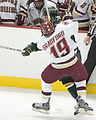 Vermont ?, Brock Bradford - The Boston College Eagles completed a shutout sweep of the University of Vermont Catamounts on Saturday, January 21, 2006 by defeating Vermont 3-0 at Conte Forum in Chestnut Hill, MA.