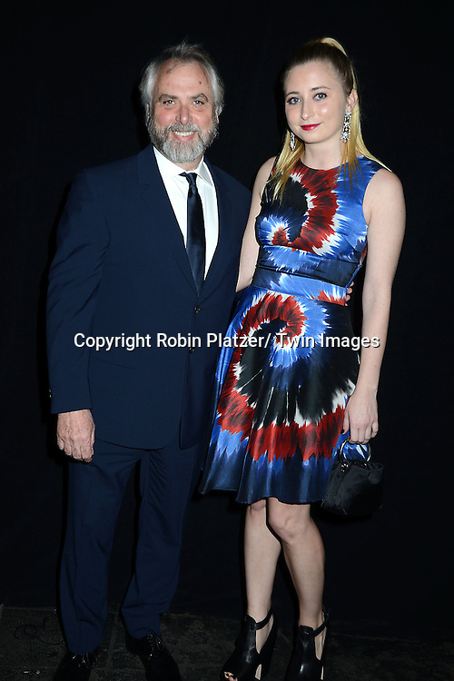 Bob Munk and Juliette Munk attends the 2013 Whitney Gala & Studio party honoring artist Ed Ruscha on October 23, 2013 at Skylight at Moynihan Station in New York City.