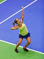 December 21, 2014, Rotterdam, Topsport Centrum, Lotto NK Tennis, Richel Hogenkamp<br /> Photo: Tennisimages/Henk Koster