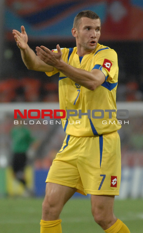 FIFA WM 2006 -  Round of Sixteen - / Viertelfinale <br /> Play    #54  (26. Juni ) Schweiz - Ukraine<br /> <br /> Andrij Shevchenko (UKR)<br /> <br /> Foto &copy; nordphoto