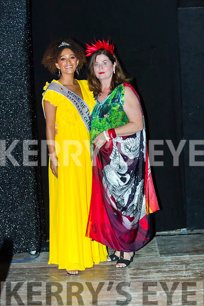 Best Dressed Lady Aiobhinn Hamill at the Rose of Tralee Fashion Show pictured with 2018 Rose of Tralee Kristen Mate Maher