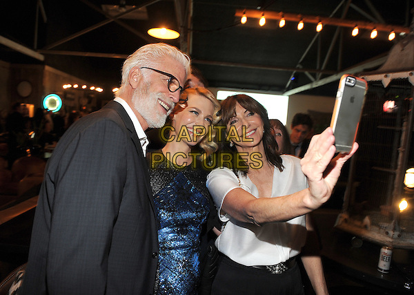 LOS ANGELES - FEBRUARY 24: Ted Danson, January Jones, and Mary Steenburgen at an exclusive screening of the premiere episode of FOX's 'The Last Man on Earth' at Big Daddy's Antique Shop on February 24, 2015 in Los Angeles, California.  <br /> CAP/MPI/PGFM<br /> &copy;PGFM/MPI/Capital Pictures