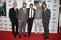 HOLLYWOOD, CA - NOVEMBER 12: Vince Jolivette, Seth Rogen, James Franco, Evan Goldberg, James Weaver, at the AFI Fest 2017 Centerpiece Gala Presentation of The Disaster Artist on November 12, 2017 at the TCL Chinese Theatre in Hollywood, California. Credit: Faye Sadou/MediaPunch /NortePhoto.com