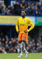 Gozie Ugwu of Wycombe Wanderers during the Sky Bet League 2 match between Portsmouth and Wycombe Wanderers at Fratton Park, Portsmouth, England on 23 April 2016. Photo by Andy Rowland.