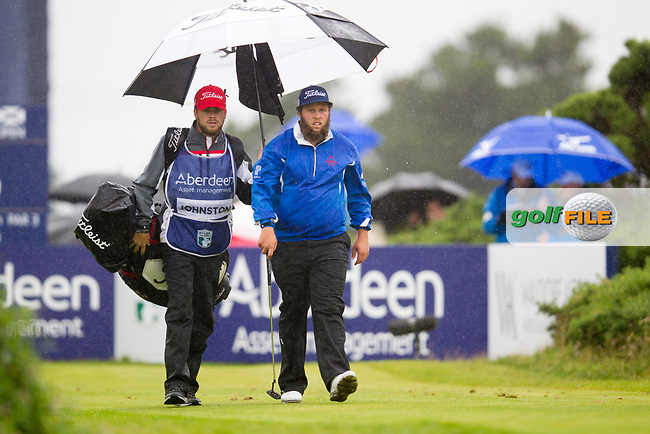 Andrew Johnston (ENG) on the 6th during round 3 of the Aberdeen Asset Management Scottish Open 2017, Dundonald Links, Troon, Ayrshire, Scotland. 15/07/2017.<br /> Picture Fran Caffrey / Golffile.ie<br /> <br /> All photo usage must carry mandatory copyright credit (&copy; Golffile | Fran Caffrey)