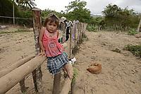 NAZARET GUAJIRA -COLOMBIA. 28-05-2014. Aspectos de las comunidades cercanas a Nazaret, Guajira, las cuales han sido beneficiadas por los proyectos del Plan Fronteras para Prosperidad en el área de la crianza Ovino Caprina. Foto: VizzorImage/ Gabriel Aponte / Staff