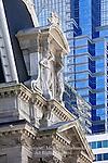 City Hall Detail Philadelphia, Pennsylvania