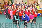 Brenda Doody and Katrina Mehigan with other parents Pauline Lynch, Geraldine Savage and Marie Fitzgibbon and pupils and staff from Derryquay national school who are getting ready for their 5K fundraiser on April 19th at 7pm starting and finishing at St Pat's, BlennervilleBrenda Doody and Katrina Mehigan with other parents Pauline Lynch, Geraldine Savage and Marie Fitzgibbon and pupils from Derryquay national school who are getting ready for their 5K fundraiser on April 19th at 7pm starting and finishing at St Pat's, Blennerville