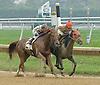 Rebecca Mia winning at Delaware Park on 10/4/12