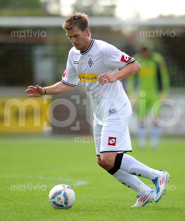 Fussball 1. Bundesliga :  Saison   2011/2012   Testspiel  30.06.2011 Borussia Moenchengladbach - SpVgg Greuther Fuerth Thorben Marx (Borussia Moenchengladbach)