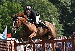 02.06.2019,  GER;  Deutsches Spring- und Dressur-Derby, 90. Deutsches Spring-Derby, im Bild Henrik Sosath (GER) auf Lady Lordana Foto © nordphoto / Witke
